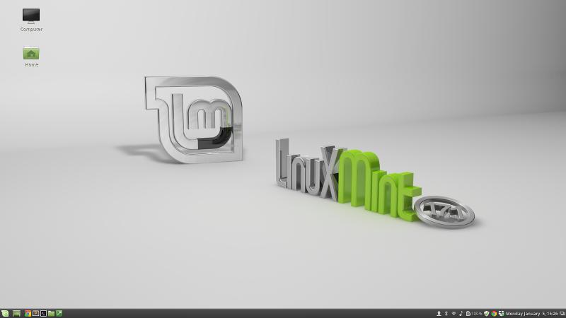linux mint screenshot